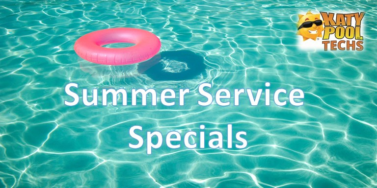 4 Summer Specials To Help Keep Your Pool Crystal Clear